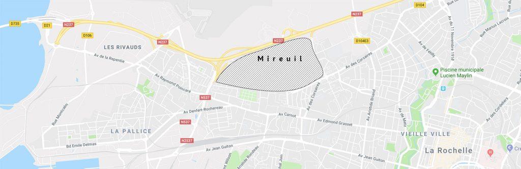 Zone prioritaire de la ville de La Rochelle : Port Neuf